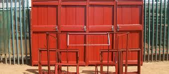STEEL AND BANNER DOORS